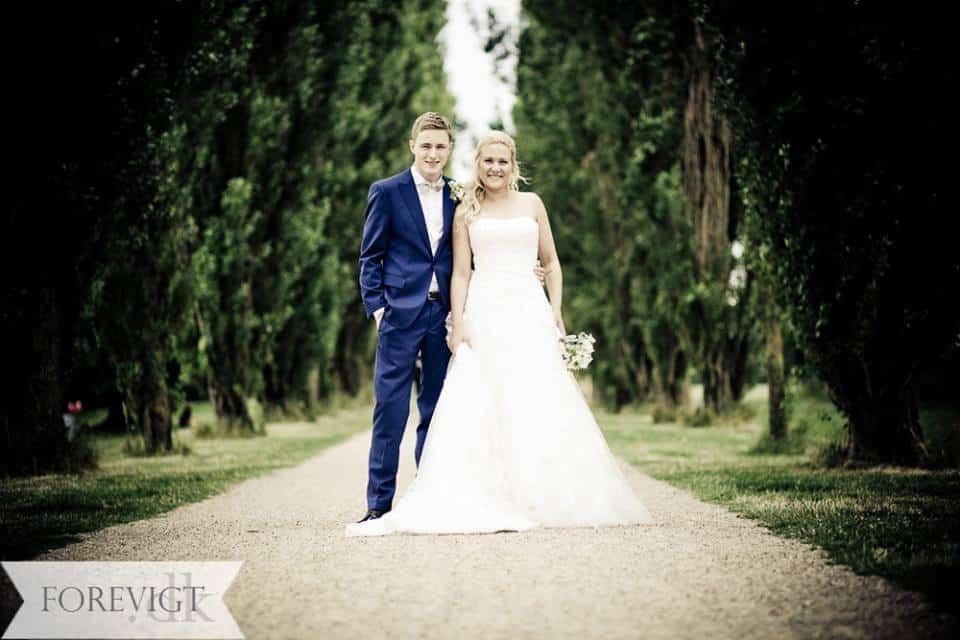 Clausholm Slot bryllup