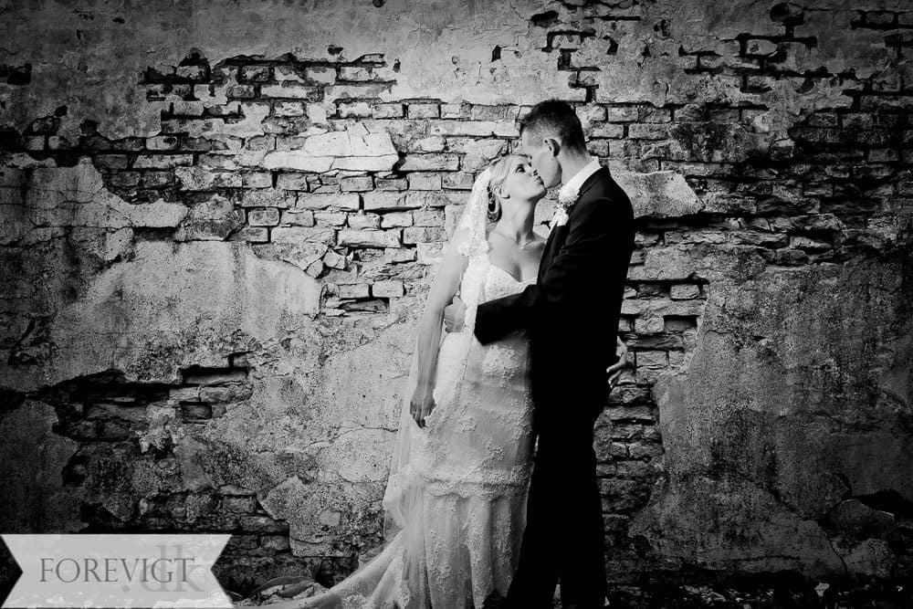 Bryllupsfoto ved Græsted