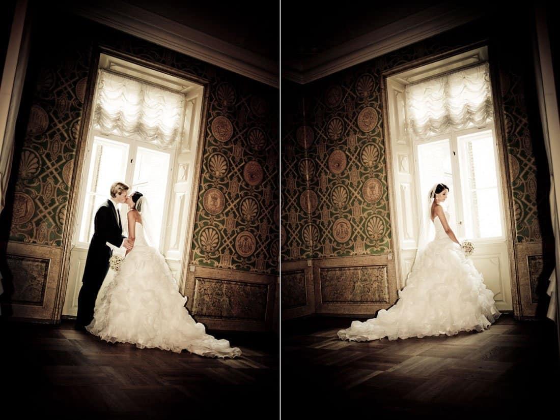Tirsbæk Slot bryllup
