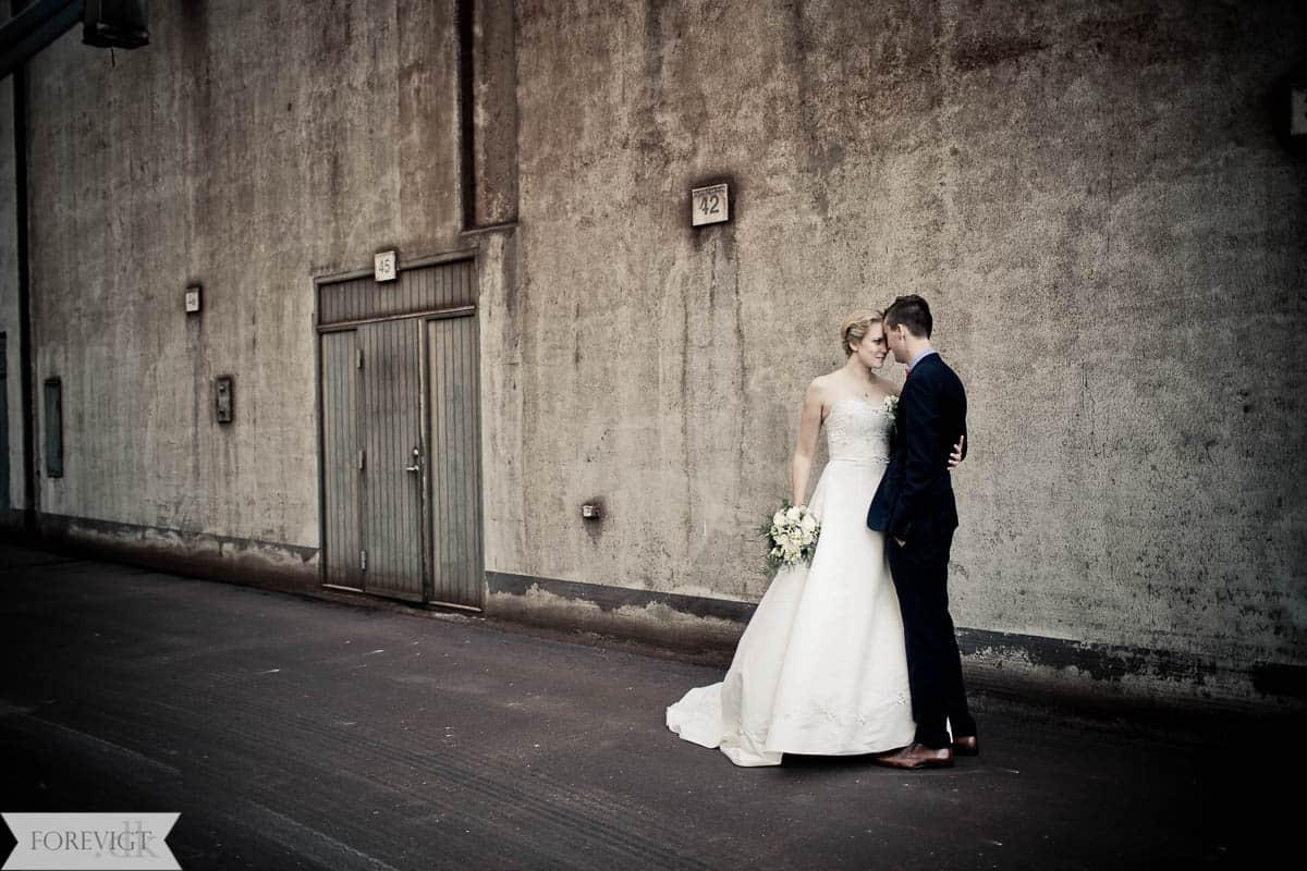 bryllupsbilleder aarhus havn